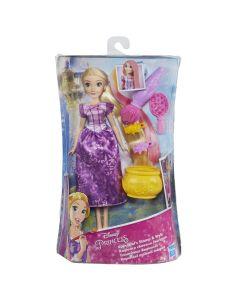 Papusa Rapunzel cu accesorii de par, Disney Princess