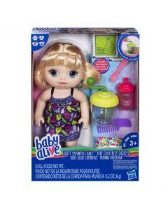 Bebe Lingurita Baby Alive fetita (blond)
