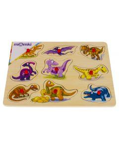 Puzzle cu tinte - Dinozauri
