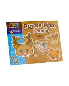 Masca din puzzle- Animale