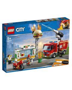 LEGO City Incendiu-Burger Bar
