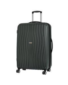Troler ABS Case 4 roti duble, 58 cm, gri