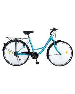 Bicicleta Urban City dama V2636A turqouise, Velors