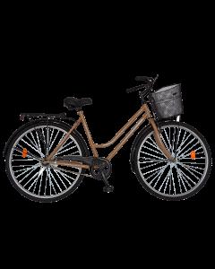 Bicicleta City  dama R2892A crem, Rich