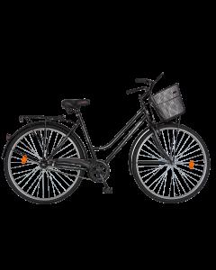 Bicicleta City  dama R2892A negru, Rich