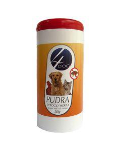 Pulbere antiparazitara Ectocid pentru caini,pisici si pasari de colivie 50 gr, 4Dog