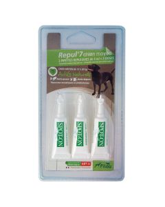 Pipete antiparazitare pentru caini de talie medie 3x3 ml, Pilou