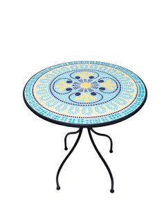 Masa rotunda mozaic
