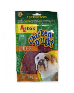 Recompensa caini Chicken D'light rata 100 g