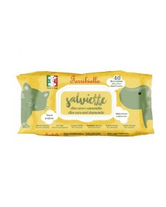 Servetele umede Wipes Aloe 40 bucati, Ferribiella
