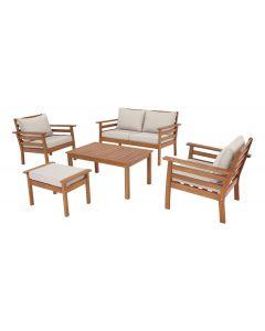 Set mobilier gradina 5 piese, lemn