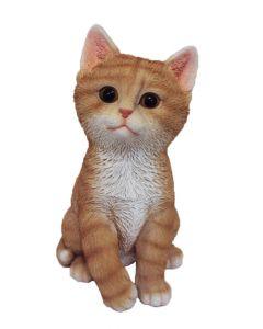 Decoratiune pentru gradina 22.5 cm, Pisica