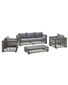 Set mobilier terasa 4 piese, Carrefour