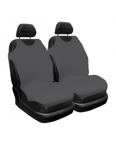 Set husa scaun gri x2 Carmax