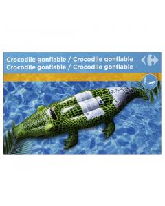 Crocodil gonflabil, 139x61x23 cm