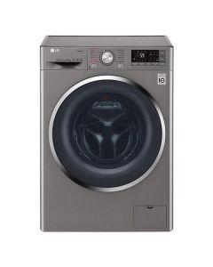 Masina de spalat rufe F4J7VY2S LG, 9 kg, 1400 RPM, A+++, True Steam, Wi-Fi, SteamOnly, Argintiu