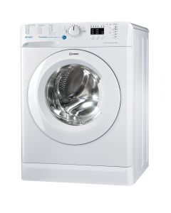 Masina de spalat rufe Innex BWSA 61253 W EU Indesit, Slim, 6 kg, 1200 rpm, Clasa A+++, Alb