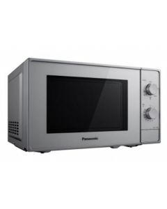 Cuptorul cu microunde NN-K10JWMEPG Panasonic, 800W Microunde, 800W Grill, 20L, 5 Trepte putere, Argintiu