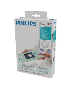 Saci pentru aspirator FC8022/04 Philips, 4 bucati, Anti-alergii