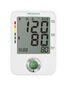 Tensiometru de brat Medisana BU A50, 60 x 4memorii, Display LCD, Alb