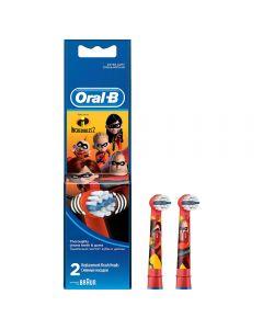 Rezerva periuta electrica Incredibles Oral-B, 2 bucati