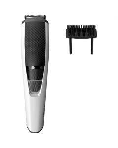 Aparat de tuns barba Philips BT3206/14, Acumulator, 0.5-10 mm, Alb/Negru