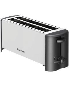 Prajitor paine R2152 Rohnson, 1200W, 6 nivele de putere, 4 felii, functie decongelare, Inox