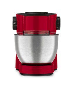 Robot de bucatarie Wizzo QB317538 Tefal, 1000 W, Flex Whisk, Set pentru patiserie, Bol din inox, Tocator, Blender, Rosu/Inox