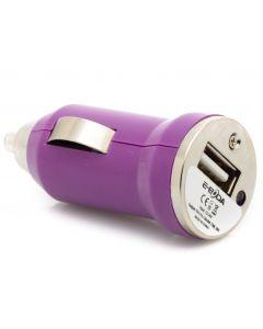 Incarcator auto USB CML 201 E-boda, Mov
