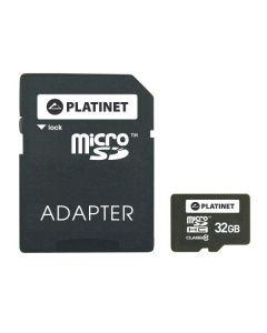 Platinet MicroSD + Adaptor 32GB