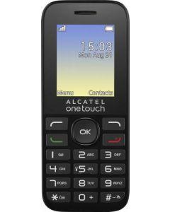 Telefon mobil 1016DTIGERX3DS Alcatel, Dual SIM, Negru