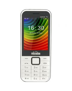 Telefon mobil T301 Freeman, Alb, Dual Sim