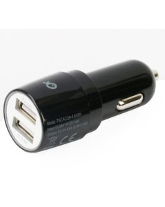 Incarcator auto PSCACDB-4.8ABK Poss, 4.8 A, Dual USB