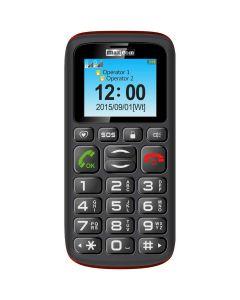 Telefon mobil MM428 Maxcom, Gri/rosu, Dual Sim