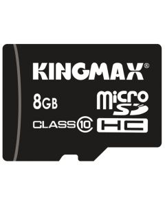 Card de memorie Kingmax microSD + Adaptor 8GB Clasa 10