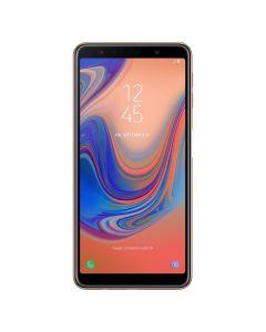 "Telefon mobil A7 (2018) Samsung, 64 GB, 24 megapixeli, 6"", Dual SIM, Auriu"
