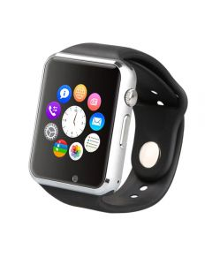 Smartwatch Smart Time 310 E-Boda, Bluetooth v3.0, Slot SIM, Andoid 4.4+, Apelare telefonica, Camera, Notificari si mesaje, Monitorizare somn, Negru