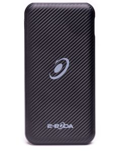 Power-bank CML QC 601 E-boda, 8000 mAh, tip C, incarcare rapida, Negru