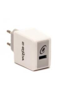 Incarcator Priza CML QC 101 E-Boda, Quick Charge 3.0, Intrare 100-240V, USB, Alb