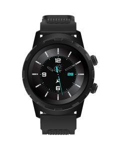 Ceas smartwatch Allview Hybrid T, Unisex, Digital, Notificari, Ritm Cardiac, Negru