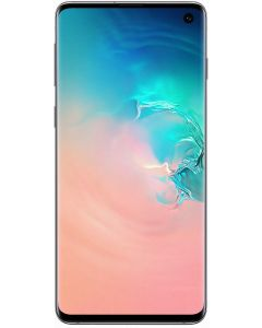 Telefon mobil S10 Samsung, 128 GB, Dynamic AMOLED, Quad HD+ Curved, Camera tripla cu Dual OIS, Alb