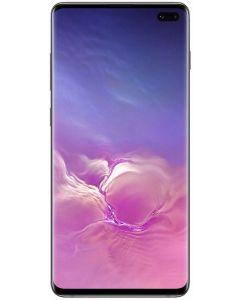 Telefon mobil S10+ Samsung, 128 GB, Dynamic AMOLED, Quad HD+ Curved, Camera tripla cu Dual OIS, Negru