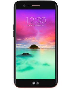 Telefon mobil K10 (2017) LG, 16 GB, 2 GB RAM, 13 Megapixeli, 2800 mAh, IPS LCD, Auriu