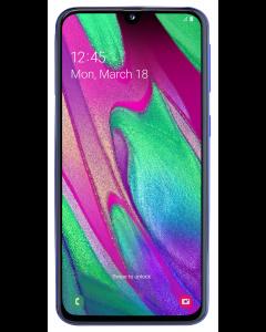 Telefon Samsung Galaxy A40, 64 GB, 4 GB RAM, 16+5 MP, Procesor Octa Core, Albastru