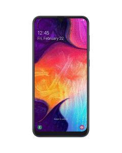 Telefon mobil A50 2019 Samsung, Dual SIM, 128GB, 4G, Amoled, Android 9.0 Pie, Type C, Negru
