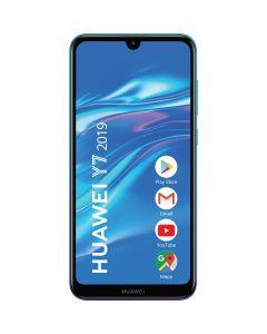 Telefon mobil Y7 2019 Huawei, Dual Sim, 6.2 Inch, Snapdragon 450, 3 GB RAM, 32 GB, Android Oreo, Aurora Blue