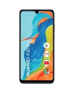 Telefon mobil Huawei P30 Lite, Dual SIM, 128GB, 4GB RAM, Camere Tripla, 32MP, 4G, Black