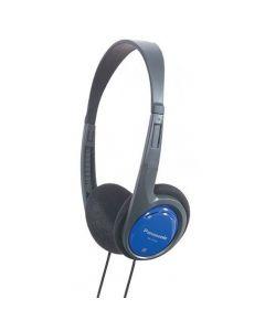 Casti audio RP-HT010E-A Panasonic, Cu fir 1.2m, Sensibilitate 102dB,  Albastru