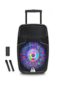 Sistem karaoke BHT420MK3 iDance, Putere RMS 40 W, Bluetooth