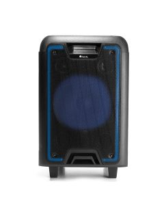 Sistem audio portabil WildMetal NGS, 120W, Card SD, Bluetooth, Radio FM, USB, Timp redare 7H